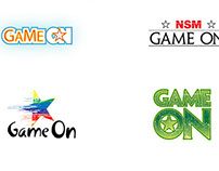 'Game On' Logo Options