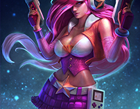 Arcade Miss Fortune . League of Legends Fanart