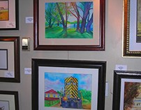 IWS Art Exhibit & PRAL Park Ridge Art League Exhibit
