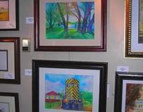 IWS Art Exhibit & PRAL Park Ridge Art League Exhibit