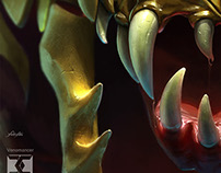 [Fanart] Venomancer . Dota 2 Brasil Collab