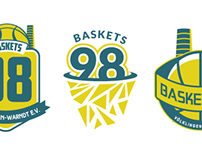 Basketball Logo // Baskets 98