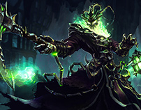 [Fanart] Thresh . League of Legends Tribute