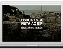 BIF - Website Design