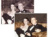 Restoration & cororisation of a damaged photograph