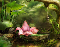 For Thumbelina, Photomanipulation