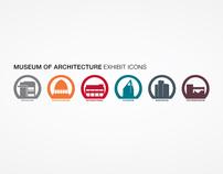 Museum of Architecture - Exhibit Icons