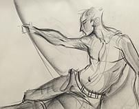 5 mins quick sketches