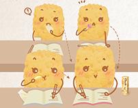 Gouté Cracker Character