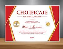 Design Certificate Mockup Free Template