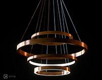 [3D modeling] Henge_light ring horizontal SET 3&4