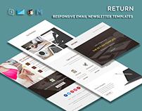 Return - Multipurpose Responsive Email Template
