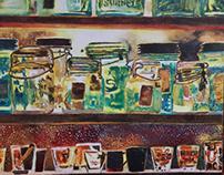 Jars in the Window