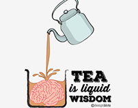 Graphic Design: Eternal Tea Gyan