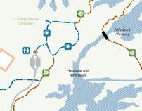Metro Parks // Kiosk Maps