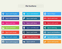 145+ Best Free Social Media Icons Buttons