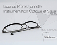 Licence Optique Lunetterie