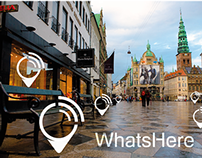 WhatsHere - Branding - Logo, Icon Apps