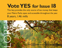 Metro Parks // Levy Campaign