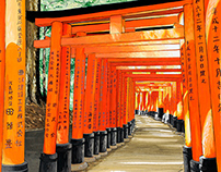 Kyoto, and west Japan