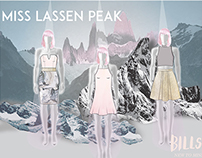 MYER Miss Shop - Bills Label - Miss Lassen Peak