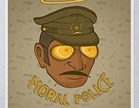 Moral Police - Kulture Shop Collaboration