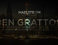 Ben Gratton - Showreel 2014