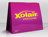 XOLAIR - Mock-up Design