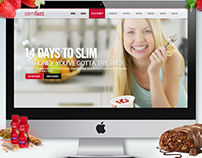 Slimfast.com { Website Redesign }