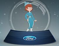 Carta de Navidad Ford