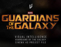 Guardians Of The Galaxy Effect + Cinema 4D Project file