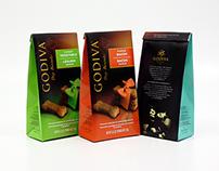 Godiva Dog Biscuits Packaging Exploration