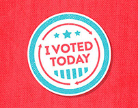 I Voted Today Animation