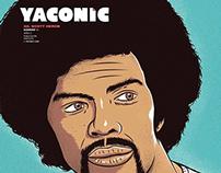 "Portada Yaconic # 13 ""Gil Scott-Heron"""