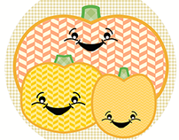 Fall Stitches - Pumpkins