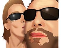 Série de portrait : 7 - Nice Couple!