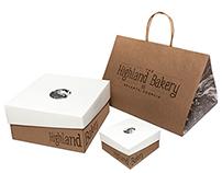 Highland Bakery Branding