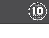 HireVue 10 Years Badge