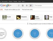 Google+ Parodies