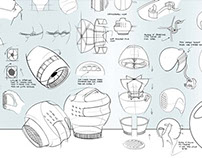 Hair Dryer Redesign - Sketching Project