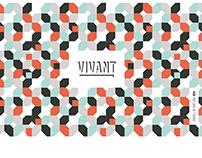 Brand Identity VIVANT I by dosbcn studio