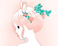 Oysho Bunny Girl
