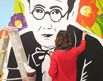 CASTELAO back in New York. Muralism