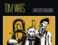 TOM WAITS -SWORDFISHTROMBONES by ARTE IN SCATOLA