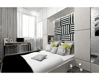 bedroom ~ apartment in Krakow