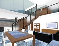 Interior casa unifamiliar