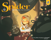Spider Magazine Redesign