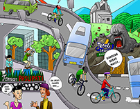 Campaign Comics: Bandung's Fun Days