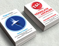 PW & TL Business Cards