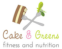 Cake & Greens Logo Design